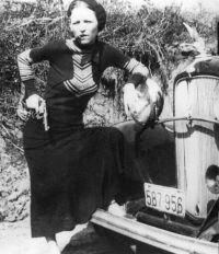 Bandit and killer Bonnie Parker