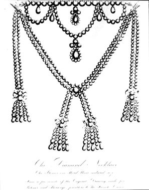 The fabulous necklace purchased for Queen Marie Antoinette