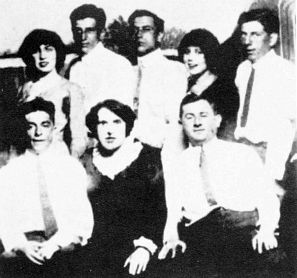 A rare photo of the killer crew that murdered Herman Rosenthal