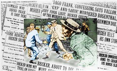 """The shooting of Herman 'Beansie"""" Rosenthal"""