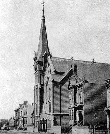 The Emanuel Baptist Church in San Francisco