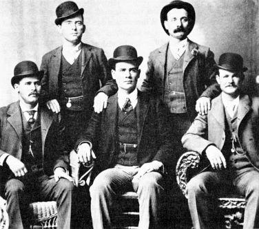 Wild Bunch members posing for posterity