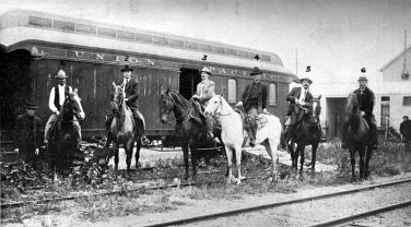 The relentless posse that set out after Cassidy and the Wild Bunch