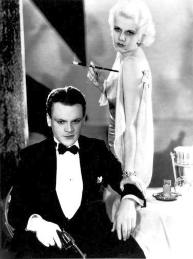 James Cagney and Jean Harlow in Public Enemy, 1931