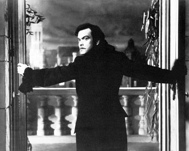 Orson Welles, playing Cagliostro in the 1949 film, <em>Black Magic</em