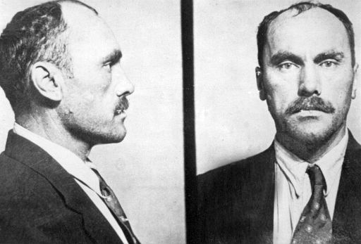 A police photo of serial killer and thief Carl Panzram